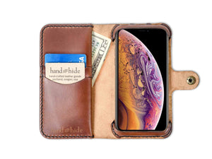 Apple iPhone XS Custom Wallet Case