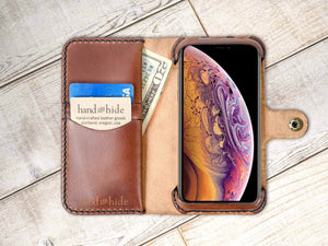 Apple iPhone XR Custom Wallet Case