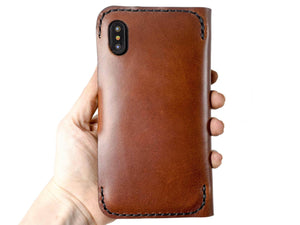 Apple iPhone XS Max Custom Wallet Case