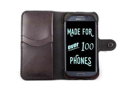 Samsung Galaxy Alpha Custom Wallet Case - Phone Wallet - Hand and Hide LLC