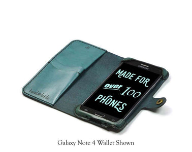 Samsung Galaxy Note 4 Custom Wallet Case - Phone Wallet - Hand and Hide LLC
