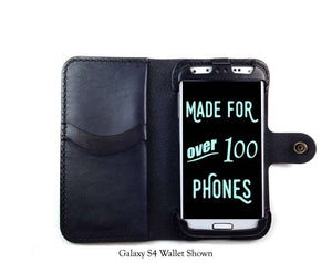 Samsung Galaxy S5 Mini Custom Wallet Case - Phone Wallet - Hand and Hide LLC