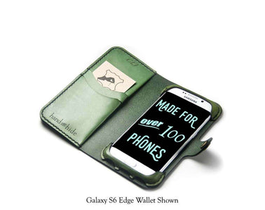Samsung Galaxy S6 Custom Wallet Case - Phone Wallet - Hand and Hide LLC