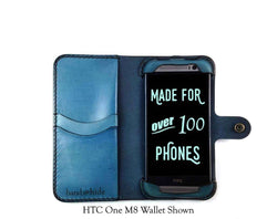 HTC One X9 Custom Wallet Case - Phone Wallet - Hand and Hide LLC