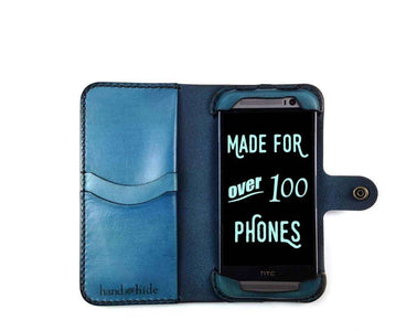 HTC One M8/M8 Eye Custom Wallet Case - Phone Wallet - Hand and Hide LLC