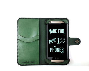 HTC One Mini 2/HTC One Remix Custom Wallet Case - Phone Wallet - Hand and Hide LLC