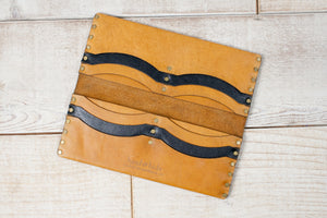 Long Wallet | Tan & Black
