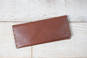 Long Wallet | Brown & Tan