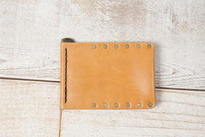 Money Clip Wallet | Tan