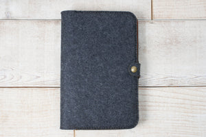 Journal Cover | Felt and Leather
