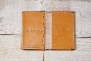 Leather Passport Cover | Tan