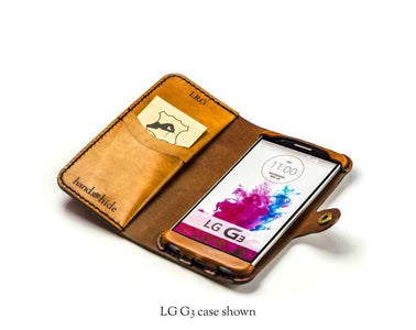 LG G5 Custom Wallet Case - Phone Wallet - Hand and Hide LLC