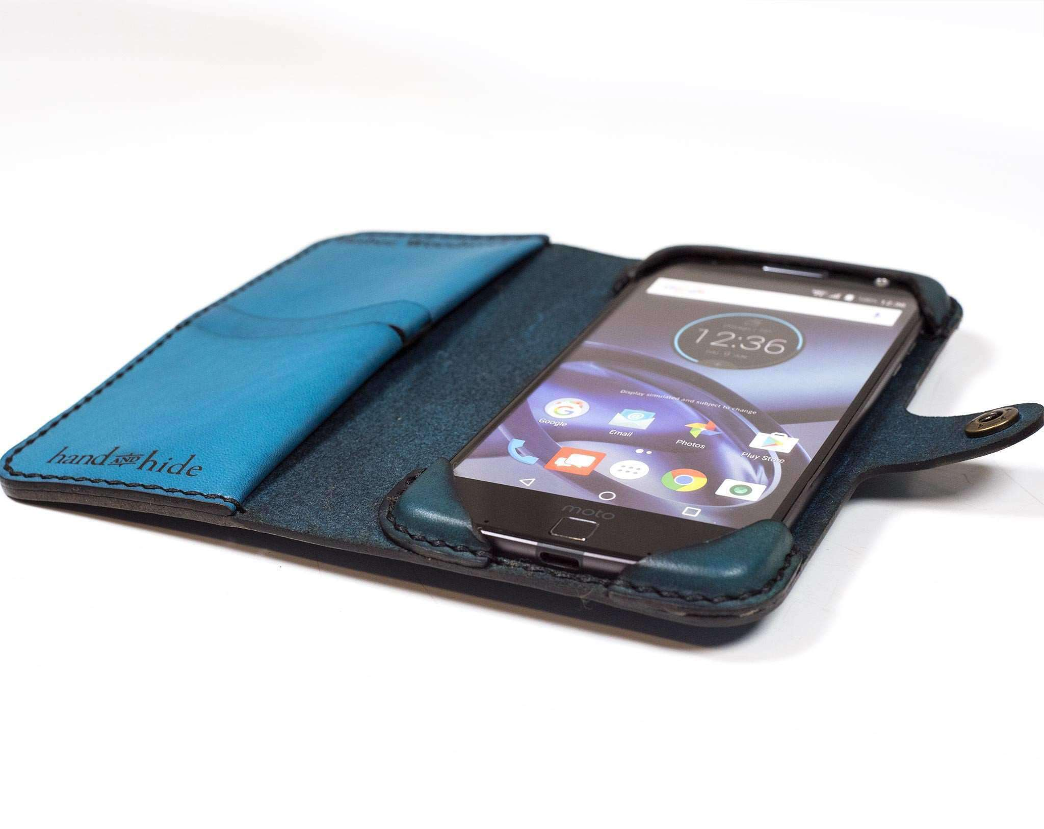 Motorola Moto Z Force Classic Wallet Case