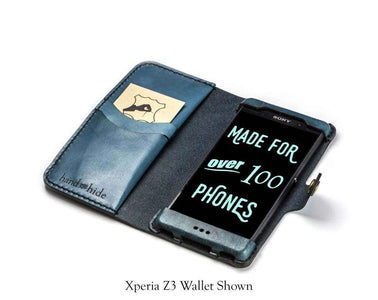 Sony Xperia Z3v (Verizon) Custom Wallet Case - Phone Wallet - Hand and Hide LLC