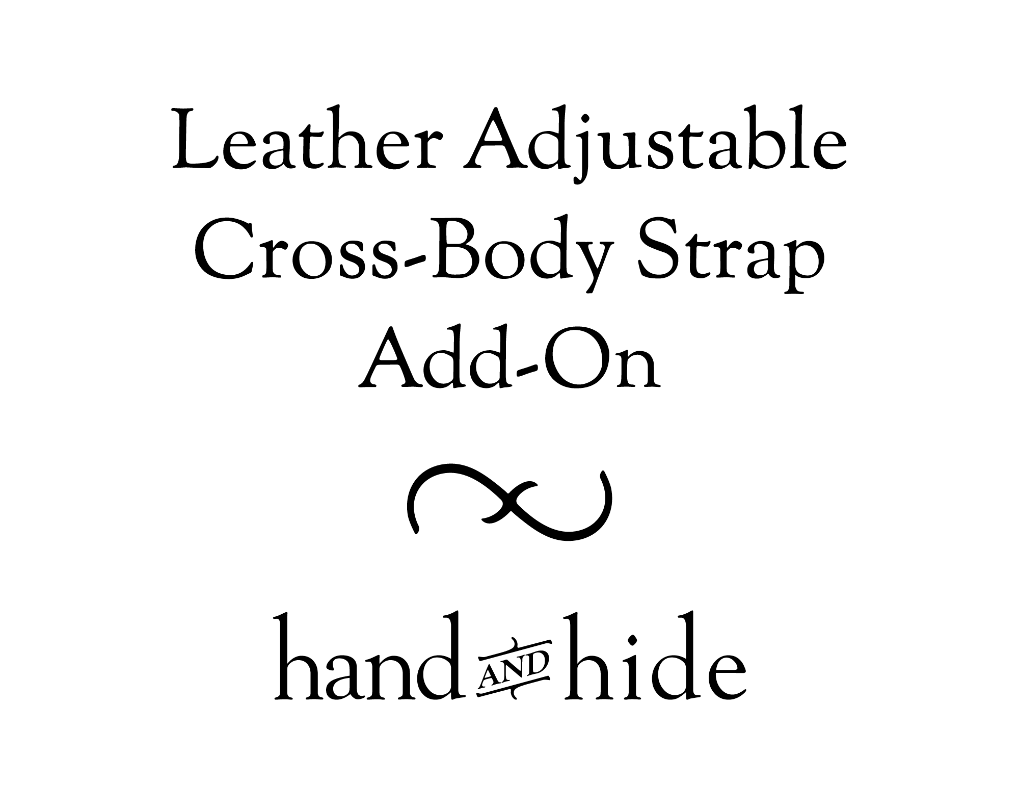 Leather Cross-Body or Shoulder Strap for Phone Case