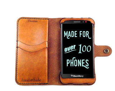 Blackberry Z30 Custom Wallet Case - Phone Wallet - Hand and Hide LLC