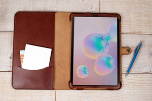 Samsung Galaxy Tab A7 Classic Leather Cover