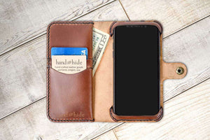 Hand and Hide OnePlus 6T Leather Phone Case