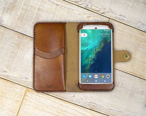 Google Pixel 2 Custom Wallet Case