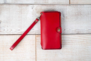 Xperia XZ Premium Flex Wallet Case | Red