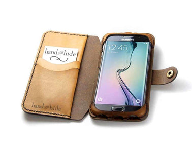 Samsung Galaxy S7 Edge Flex Wallet Case - Phone Wallet - Hand and Hide LLC