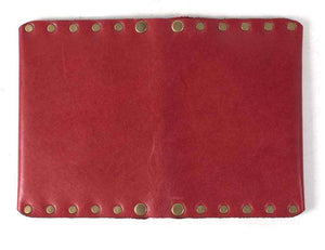 Red Riveted Wallet | Sale Item