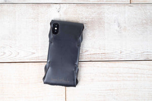 iPhone X Leather Case | Black
