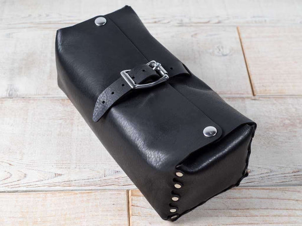 Hand and Hide Handmade Leather Dopp Kit