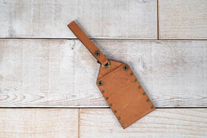 Tan Luggage Tag | Sale
