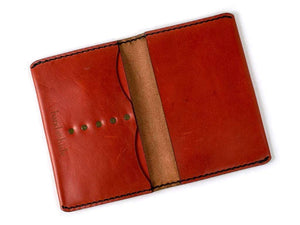 Red Leather Passport Cover | Sale