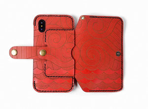 Hand and Hide iPhone XR 2 in 1 Phone Wallet Case