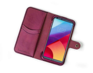 LG V30 or V30S ThinQ Custom Wallet Case