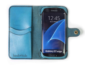 Samsung Galaxy S7 Edge Custom Wallet Case - Phone Wallet - Hand and Hide LLC