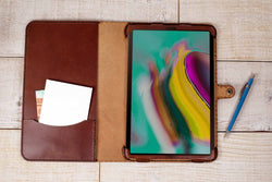 Samsung Galaxy Tab S5E Classic Leather Cover