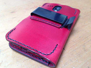 Metal Belt Clip Add-On for Leather Phone Wallet Case