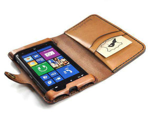 Microsoft Lumia 1020 Custom Wallet Case - Phone Wallet - Hand and Hide LLC