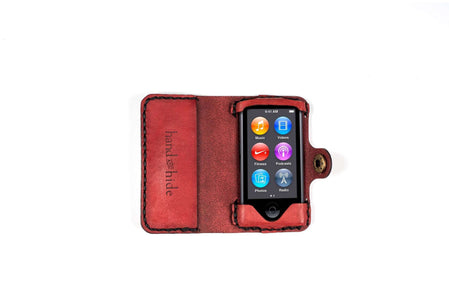 iPod Nano (7th Generation) Leather Case - Free Inscription - Hand and Hide LLC  - 1