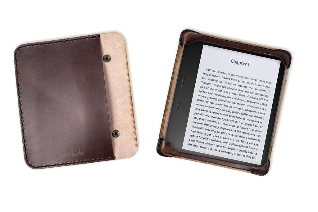 Kindle 2 Cover: Hand And Hide Handmade Leather Case For Kindle Oasis 2 In