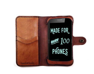 Microsoft Lumia 950 Custom Wallet Case - Phone Wallet - Hand and Hide LLC