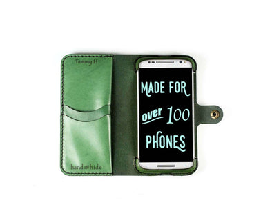 Motorola Moto X Style (Pure Edition) Custom Wallet Case - Phone Wallet - Hand and Hide LLC