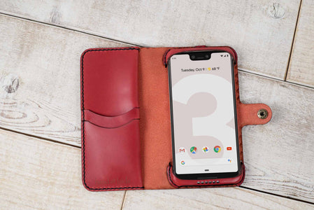 Google Pixel 3 XL Custom Wallet Case