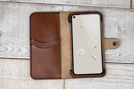 Google Pixel 4a Custom Wallet Case