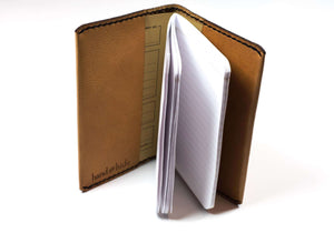 Leather Journal Cover for Field Notes (original size) - Hand and Hide LLC  - 4