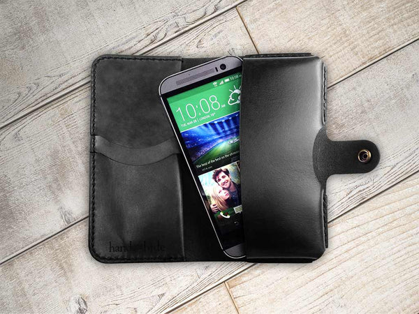 Hand and Hide Leather Smartphone Wallet