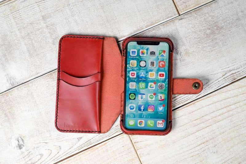 hand-and-hide-apple-iphone-x-leather-flex-case-phone-wallet-red