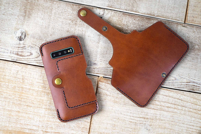 our flex wallet case allows you to separate wallet from phone holder