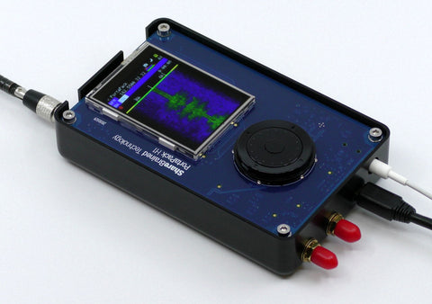 PortaPack interface add-on for HackRF One software-defined radio