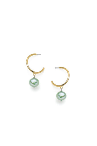 Béatrice - earrings, green