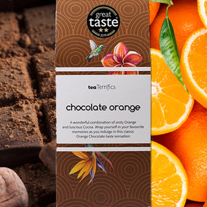 Chocolate Orange Teabags Plastic Free