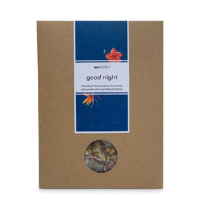 Good Night Herbal Tea Bags - Soothing Camomile, Rose Petals And Lavender